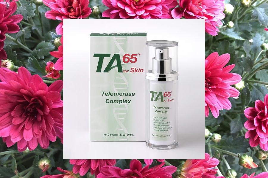 Föryngra din hud med  TA-65® for skin